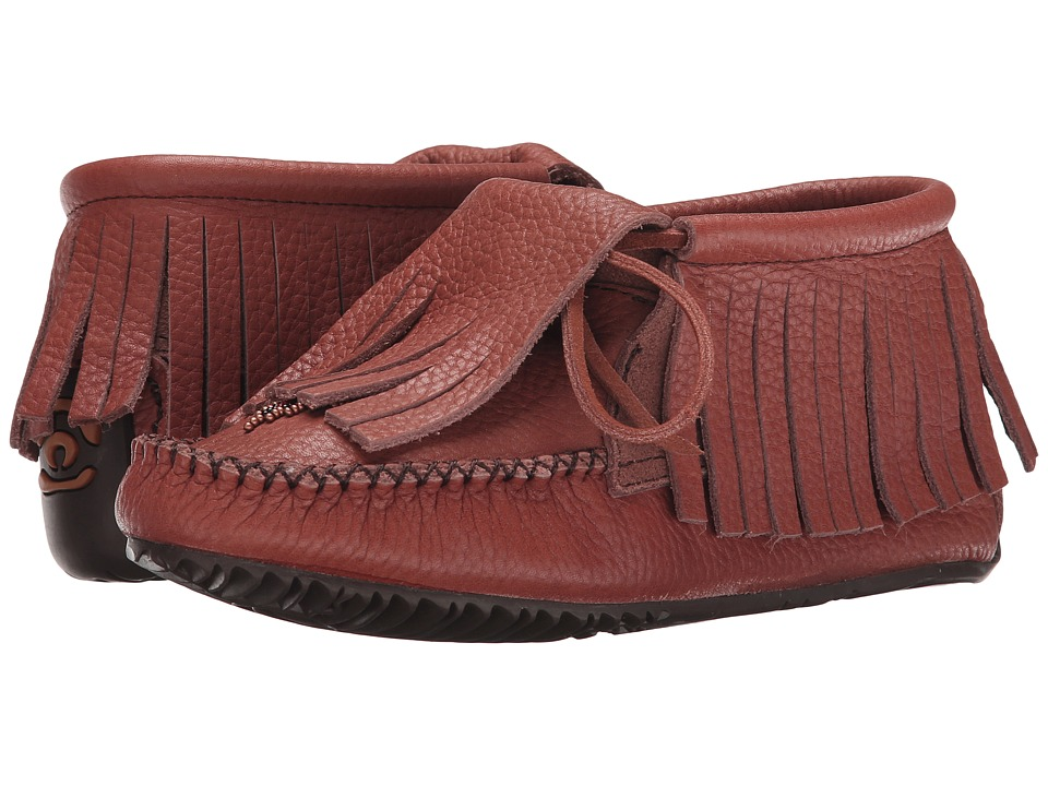 Manitobah Mukluks - Paddle Grain Moccasin Vibram (Russet) Women's Boots