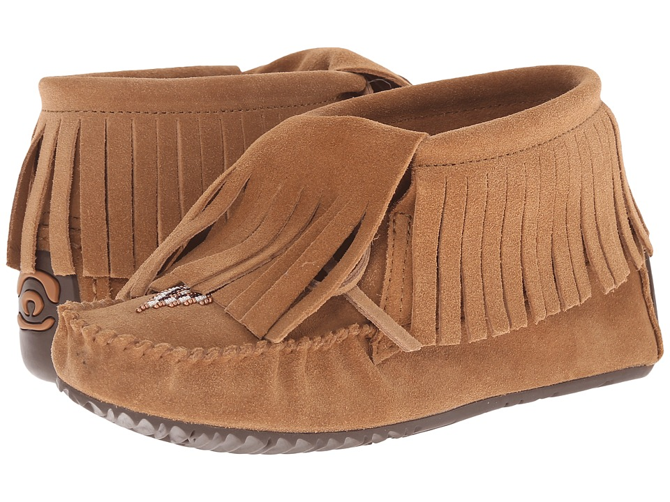Manitobah Mukluks - Paddle Suede Moccasin Vibram (Oak) Women's Boots