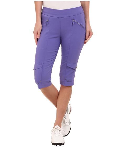 Jamie Sadock - Skinnylicious 24 in. Knee Capri (Gatsby Purple) Women