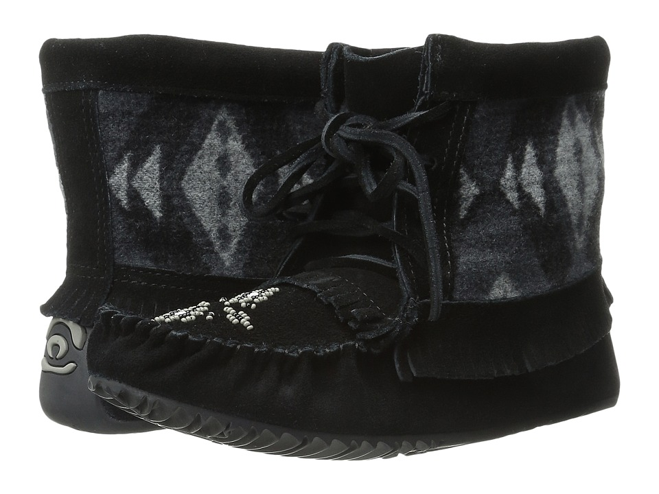 Manitobah Mukluks - Wool Harvester Suede (Black) Women