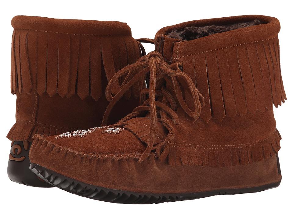 Manitobah Mukluks - Harvester Moccasin Lined (Copper) Women's Boots