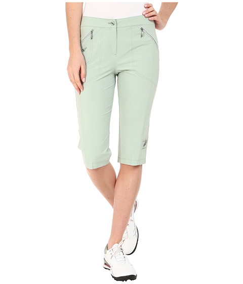 Jamie Sadock - Airwear Light Weight 24 in. Knee Capri (Sage 1) Women's Capri