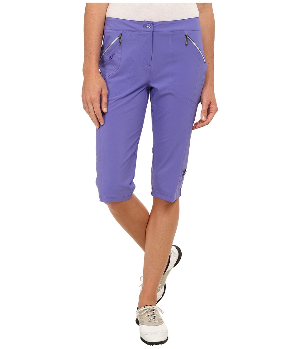 Jamie Sadock - Airwear Light Weight 24 in. Knee Capri (Gatsby Purple) Women's Capri