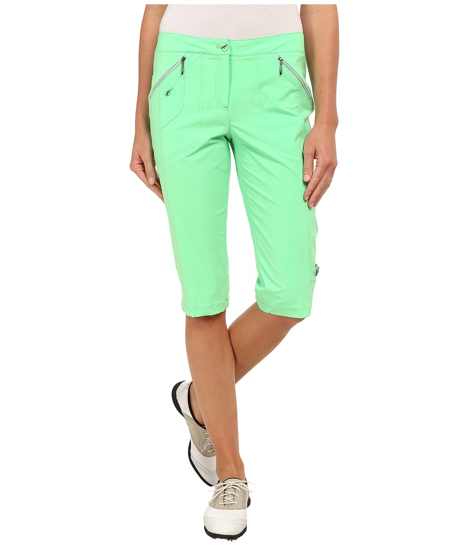Jamie Sadock - Airwear Light Weight 24 in. Knee Capri (Lilypad) Women's Capri