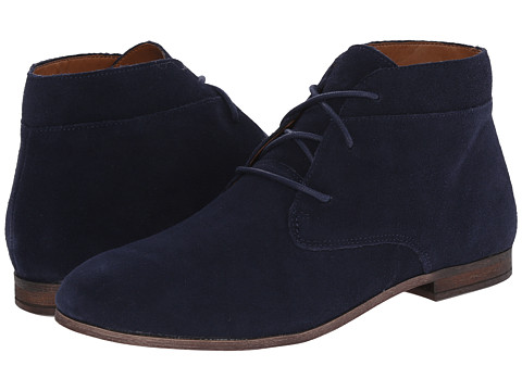 Franco Sarto - Poker (Electric Blue Suede) Women's Lace-up Boots