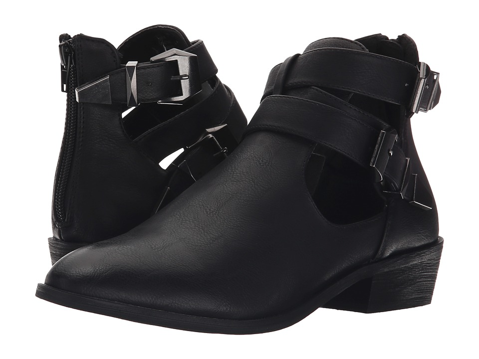MIA - Nadiya (Black) Women's Zip Boots