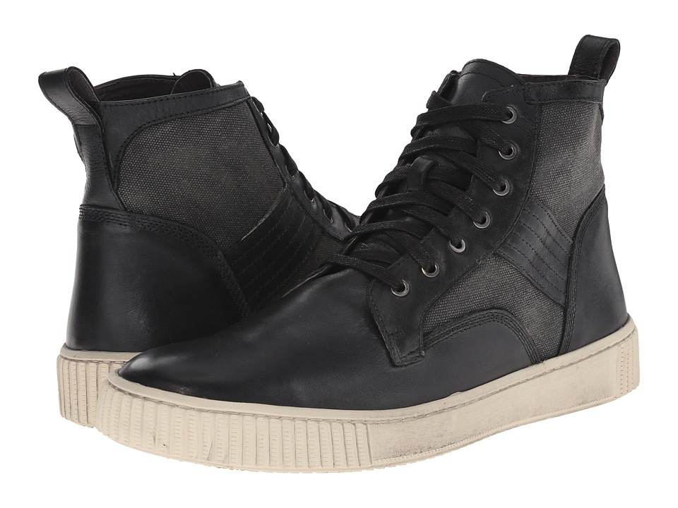 John Varvatos - Bedford Trooper (Mineral Black) Men