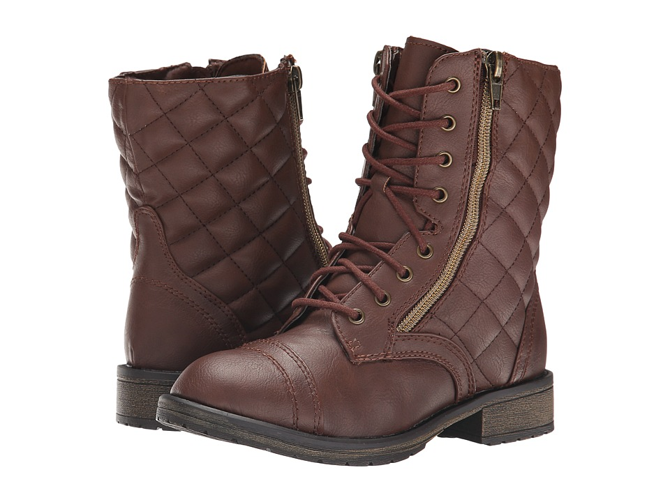 Steve Madden Kids - Jtalker (Little Kid/Big Kid) (Brown) Girl