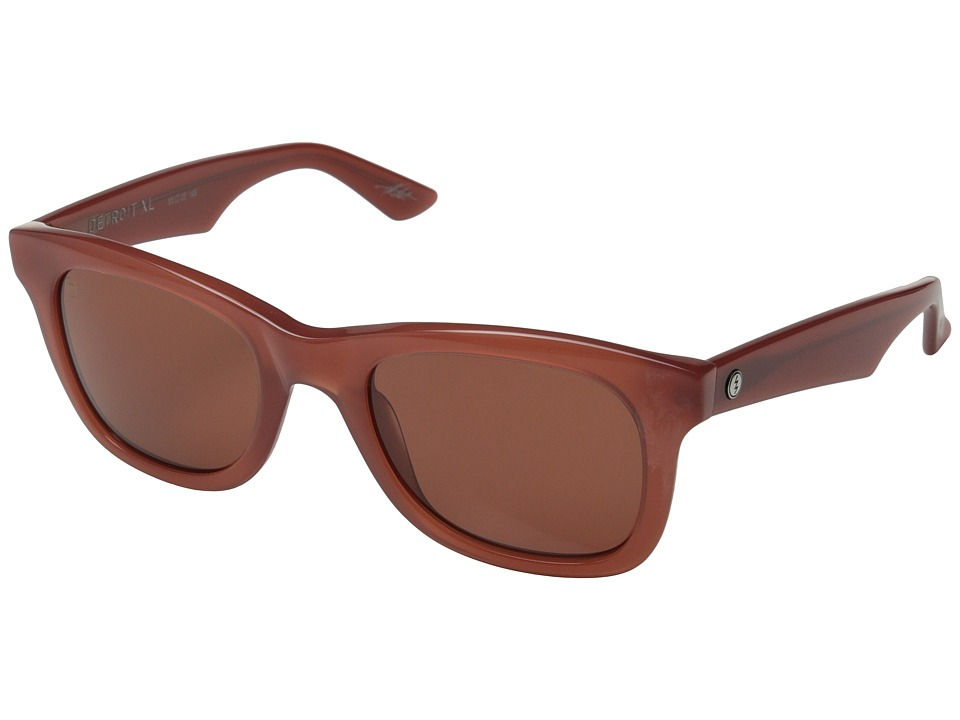 Electric Eyewear - Detroit XL (Smokey Crimson/Melanin Rose) Fashion Sunglasses