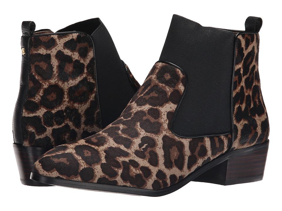 Yosi Samra - Daryll Calf Hair Boot (Mink Jaguar/Black) Women