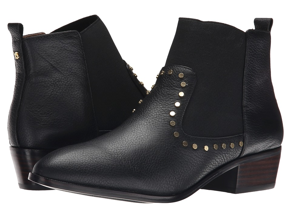 Yosi Samra - Daryll Tuscany Leather Boot with Stud Detail (Black) Women's Boots