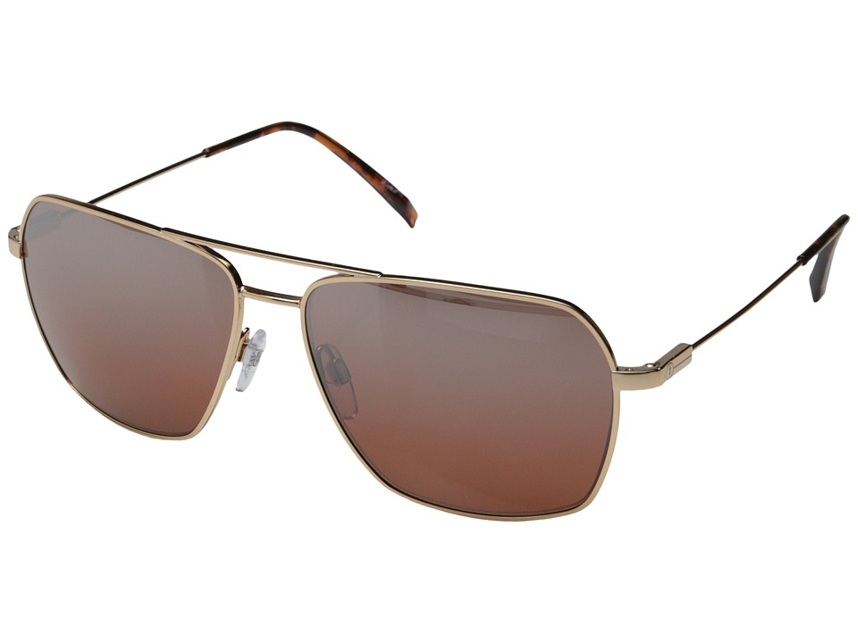 Electric Eyewear - Av2 Polarized (Rose Gold/Melanin Rose Silver Chrome Gradient) Sport Sunglasses