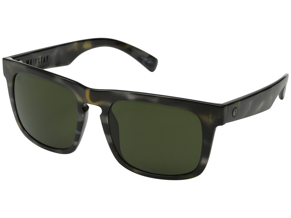 Electric Eyewear - Mainstay (Vintage Tort Grey/Melanin Grey) Sport Sunglasses
