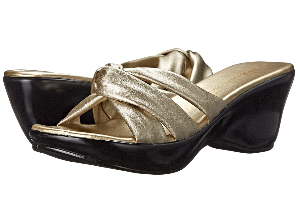 Athena Alexander - Gayle (Champagne) Women's Dress Sandals