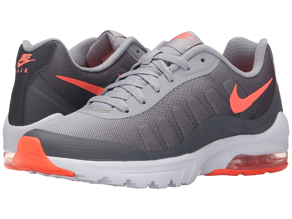 Nike - Air Max Invigor Print (Wolf Grey/Dark Grey/White/Bright Mango) Women's Classic Shoes