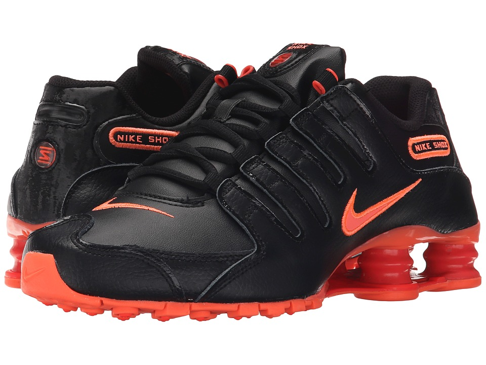 Nike - Shox NZ (Black/Bright Crimson/Bright Mango) Women's Running Shoes