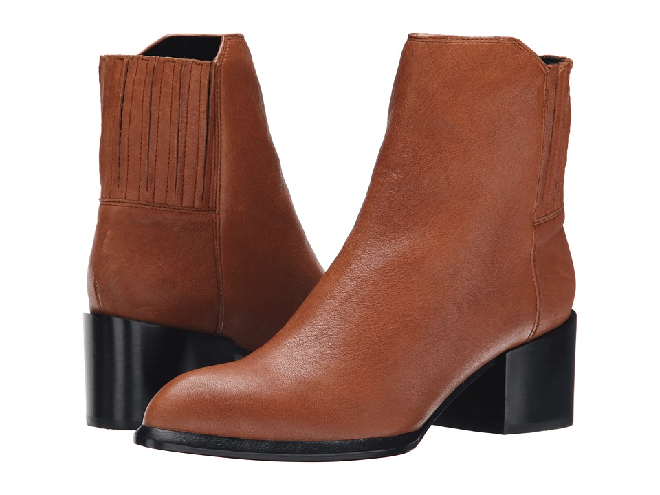 Calvin Klein Jeans - Nenita (Cognac) Women's Pull-on Boots