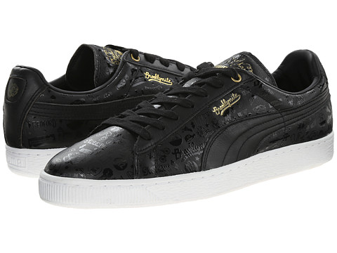 PUMA - Basket Classic X S Chang (Black) Men's Shoes