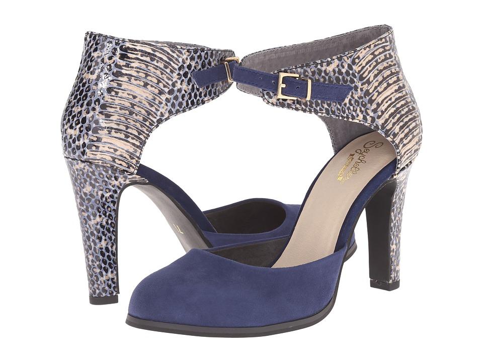 Seychelles - Hopeful (Navy/Exotic) High Heels