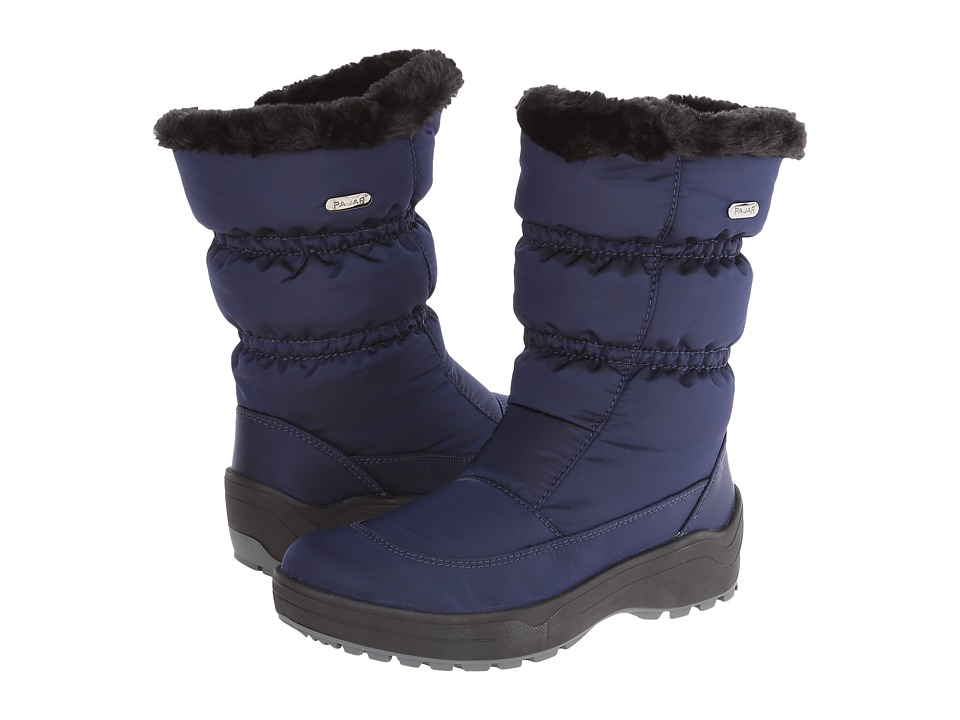 Pajar CANADA - Snowcap 2 (Navy) Women's Cold Weather Boots