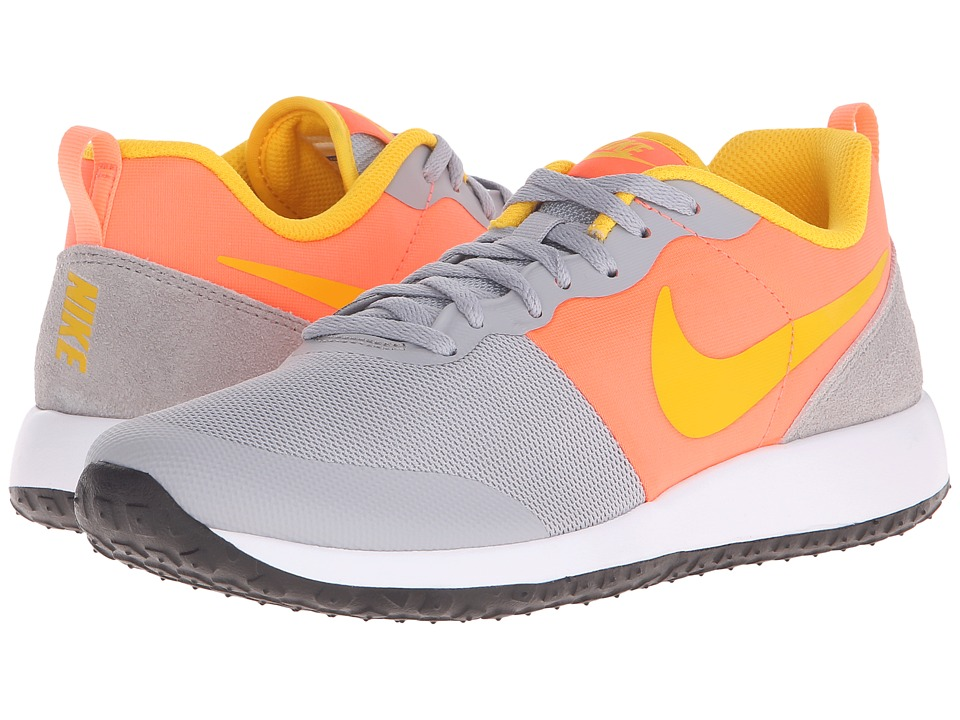 Nike - Elite Shinsen (Wolf Grey/Bright Mango/White/Varsity Maize) Women's Classic Shoes