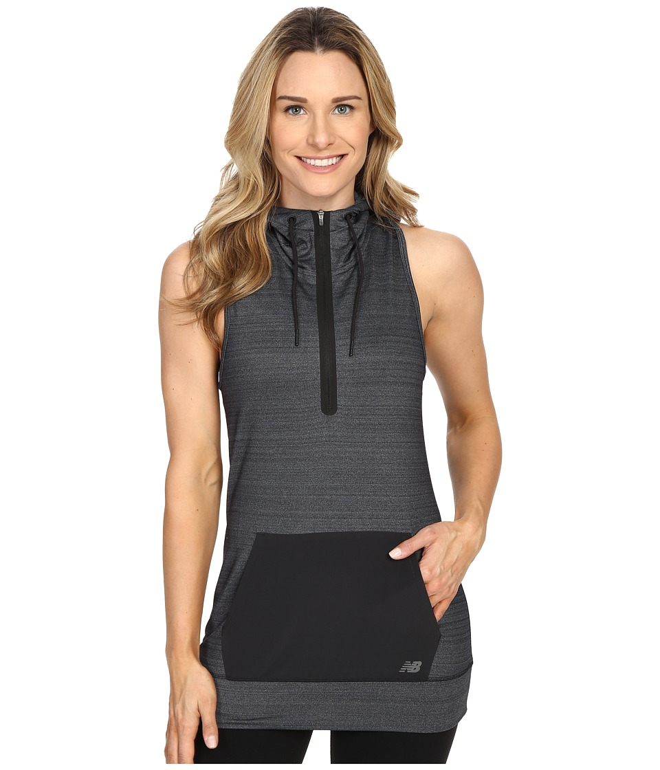 New Balance - Performance Fleece Vest (Black) Women's Vest