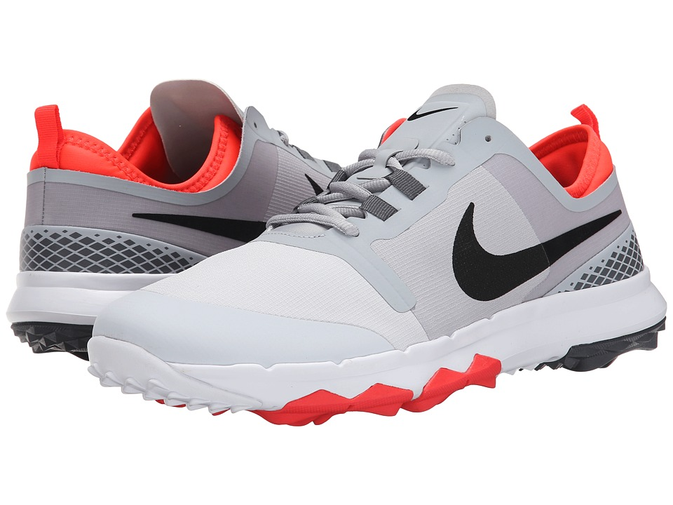 Nike Golf - FI Impact 2 (Wolf Grey/Pure Platinum/Dark Grey/Black) Men's Golf Shoes
