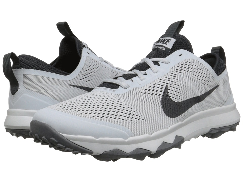 Nike Golf - FI Bermuda (Pure Platinum/White/Anthracite) Men's Golf Shoes