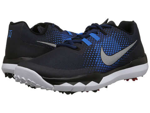 Nike Golf - TW '15 (Midnight Navy/Photo Blue/Black) Men's Golf Shoes
