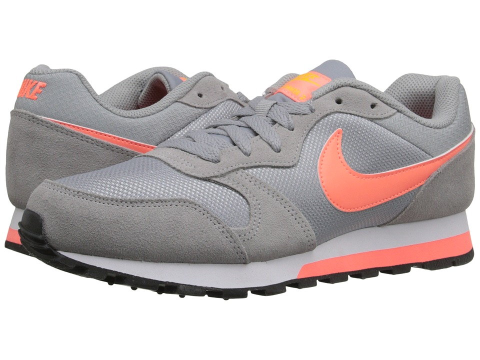 Nike - MD Runner 2 (Wolf Grey/Varsity Maize/White/Bright Mango) Women's Classic Shoes