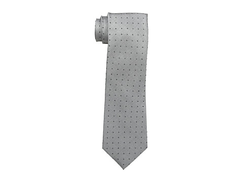 Calvin Klein - Oxford Dot Tie (Black) Ties