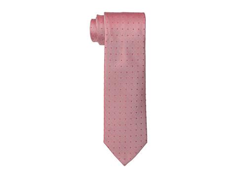 Calvin Klein - Oxford Dot Tie (Melon) Ties