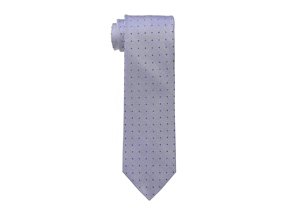 Calvin Klein - Oxford Dot Tie (Navy) Ties