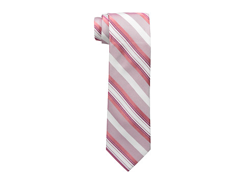 Calvin Klein - Sunrise Multi Stripe Tie (Melon) Ties