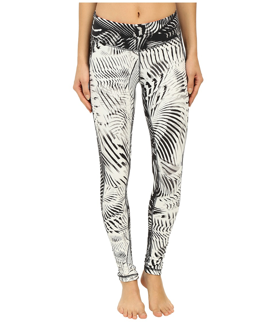 New Balance - Premium Performance Tight Print Pants (Black/White) Women's Casual Pants
