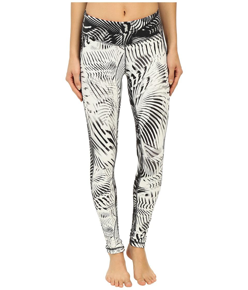 New Balance - Premium Performance Tight Print Pants (Black/White) Women's Casual Pants
