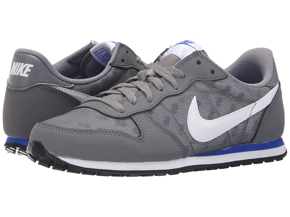Nike - Genicco Print (Cool Grey/Racer Blue/White) Women's Shoes