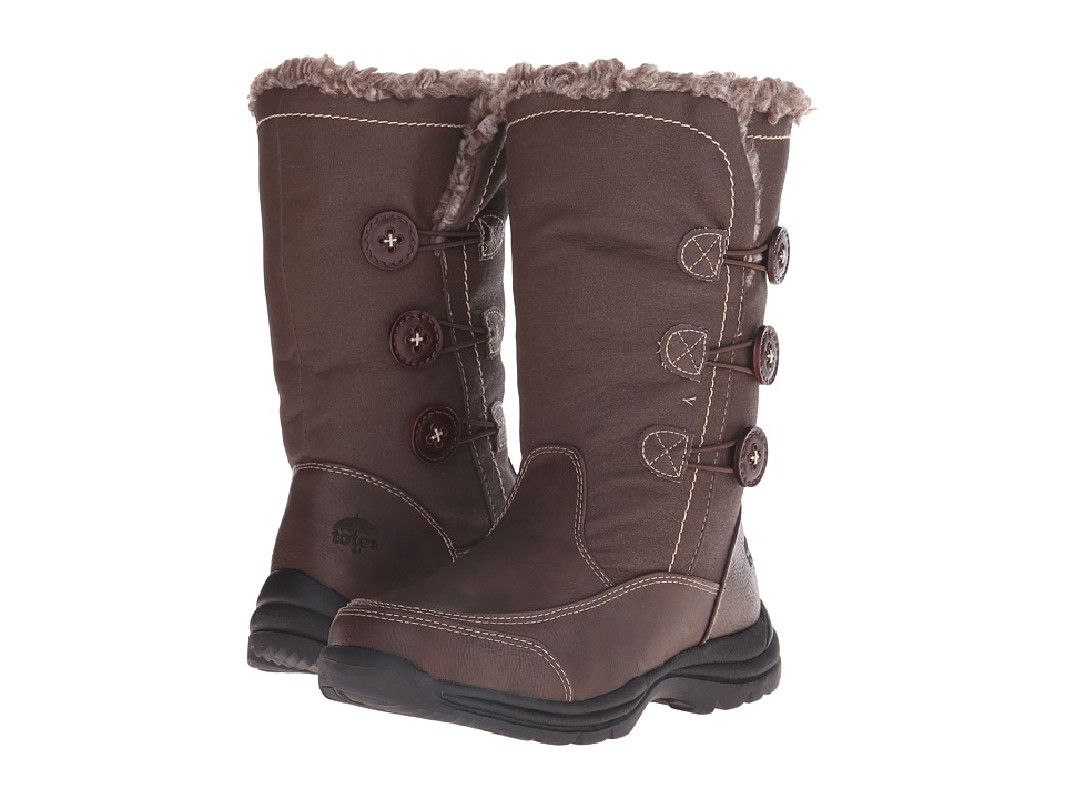 Totes - Mary (Brown) Women's Cold Weather Boots
