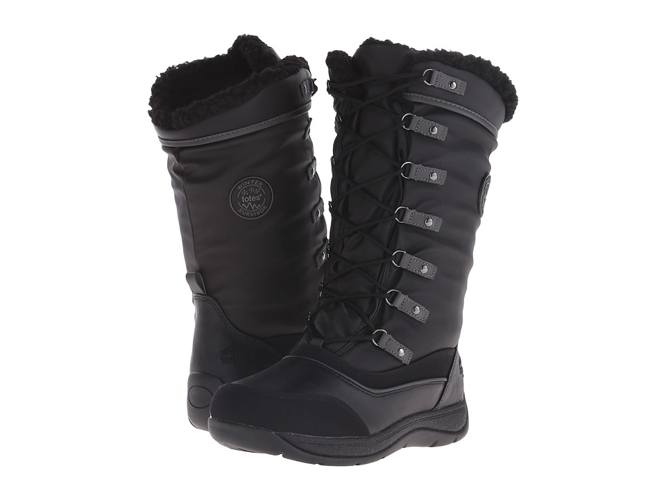 Totes - Jaylan (Black) Women's Cold Weather Boots