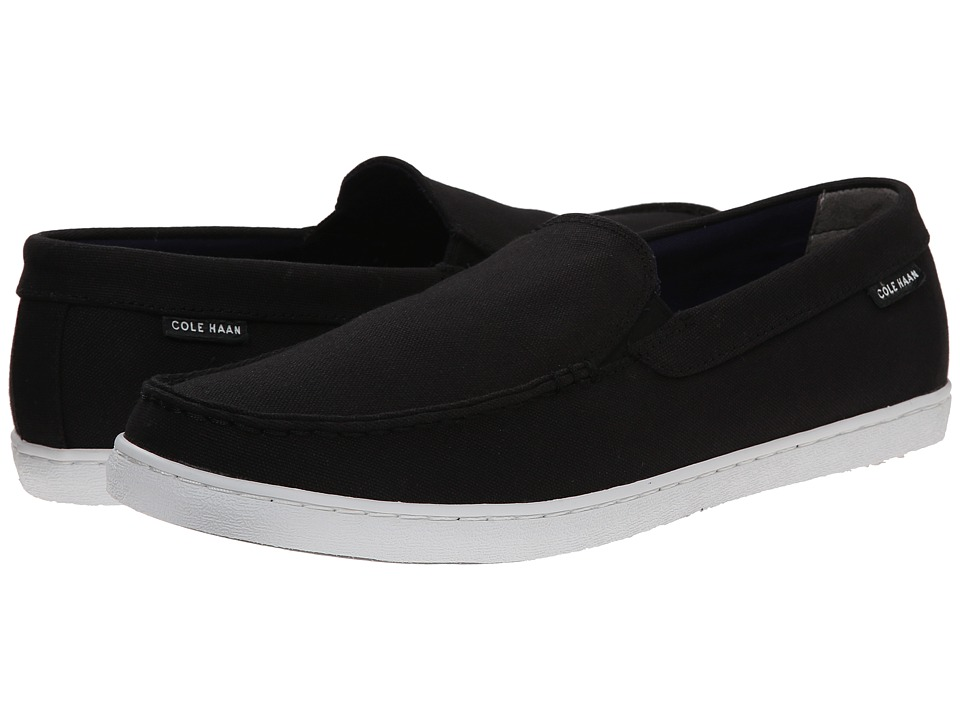 Cole Haan - Nantucket (Black Canvas) Men's Shoes