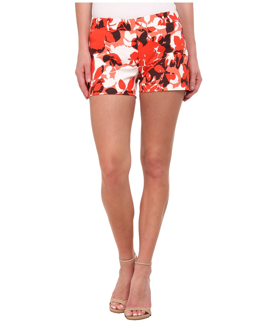 MICHAEL Michael Kors - Camouflage Rose Mini Shorts (Sanibel Pink/White) Women's Shorts
