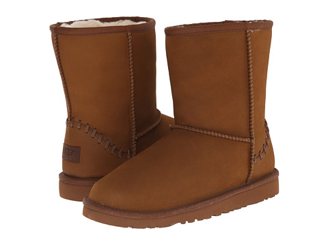 UGG Kids - Classic Short Deco (Little Kid/Big Kid) (Chestnut 2) Kids Shoes