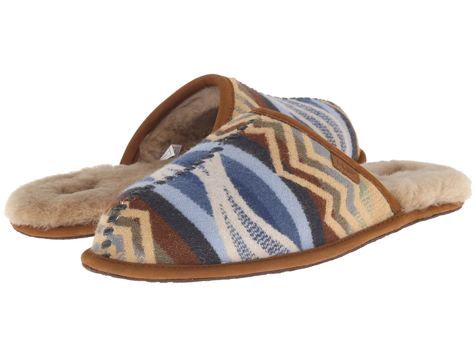 UGG - Scuff Deco Pendleton (Chestnut) Men's Sandals