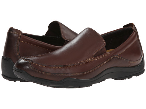 Cole Haan - Air Hughes Venetian II (Dark Brown) Men