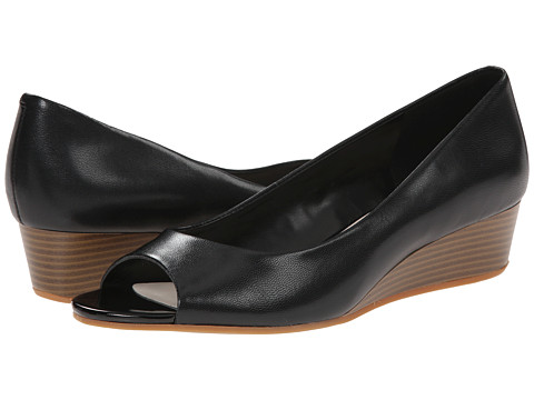 Cole Haan - Elsie Ot Wedge II (Black) Women's Wedge Shoes