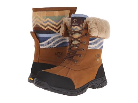 UGG - Butte Pendleton (Chestnut) Men's Cold Weather Boots