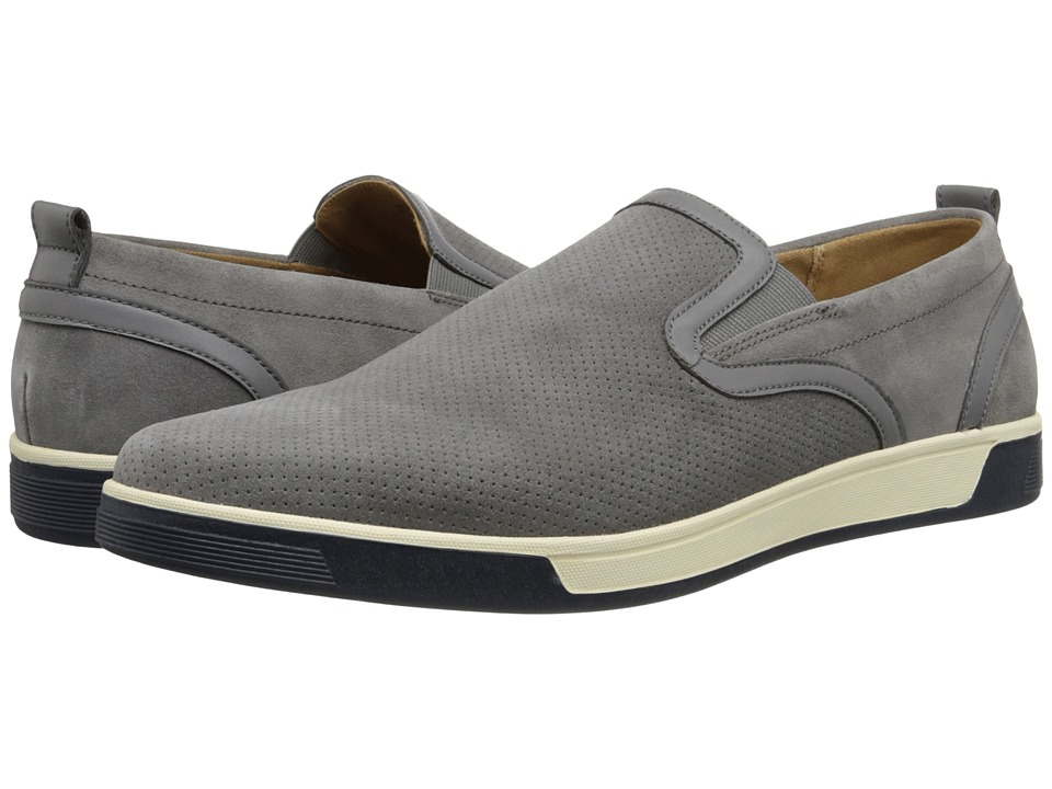 Cole Haan Quincey Slip-On II (Pewter Perf Suede) Men