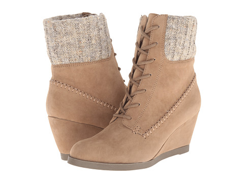 Madden Girl - Darceyy (Taupe Fabric) Women