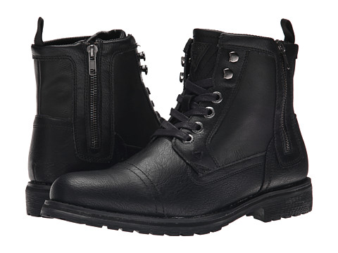 GUESS - Thorpe (Black) Men's Lace-up Boots