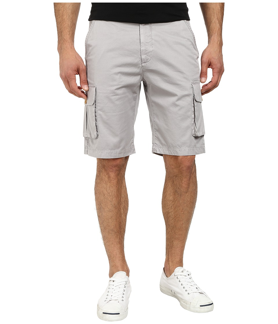Robert Graham - Globe Trotter Woven Shorts (Grey) Men's Shorts